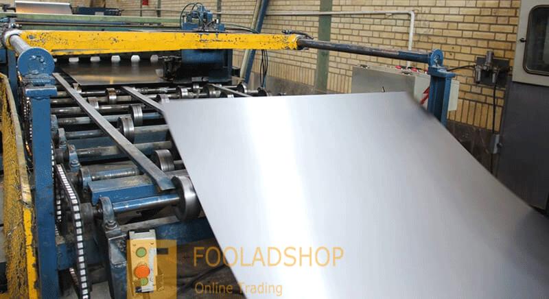 فرآیند تولید ورق فولادی